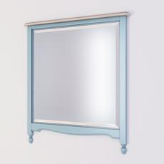 Зеркало прямоугольное Leblanc, голубое