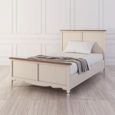 Кровать односпальная Leblanc, бежевая