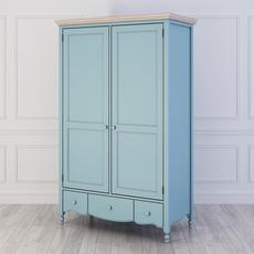 Шкаф 2 двери Leblanc W-LG130