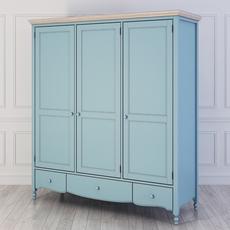 Шкаф 3 двери Leblanc W-LG131