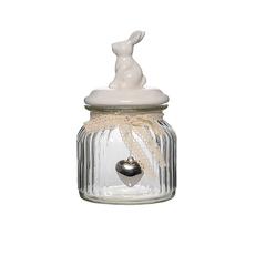 Банка для сыпучих Белый кролик S