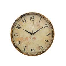 Часы настенные круглые с римскими цифрами YK-1 [CLONE]