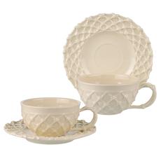 Чашка с блюдцем Крем де ла крем