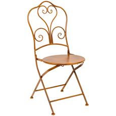 Складной стул «Жарден» (белый антик) [CLONE]