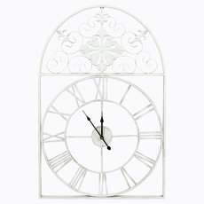 Часы «Волшебный сад», белый антик [CLONE]