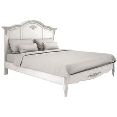 Кровать с жесткой спинкой 140*200 Belverom Gold
