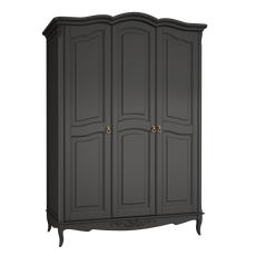 Шкаф 3 двери Belverom Black (черный)