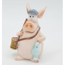 Статуэтка Свинка с мячом 6х6,5х10 RM08-0002 [CLONE]