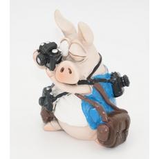 Статуэтка Свинка с кружкой 6,5х7х11 RM08-0009 [CLONE]