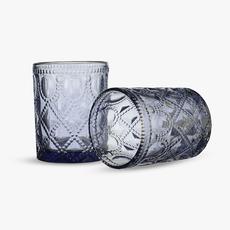 Бокал для Воды Арабский Сливовый Орнамент 300 ml (набор 6 штук) [CLONE]