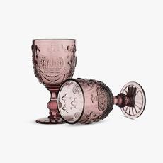 Бокал для Вина Темный Сливовый Королевский 300 ml (набор 6шт) [CLONE]