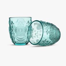 Стакан для Воды Розовый Королевский 300 ml (набор 6 штук) [CLONE]