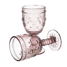 Бокал для Вина Дикая Красная Лилия 300 ml (набор 6 штук) [CLONE]