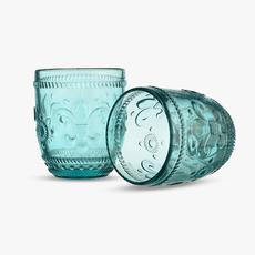 Стакан для Воды Дикая Фиолетовая Лилия 300 ml (набор 6 штук) [CLONE]