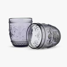 Стакан для Воды Дикая Сливовая Лилия 300 ml (набор 6 штук) [CLONE]
