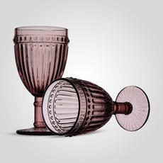 Бокал Стеклянный для Вина Розовый (от 6 штук)