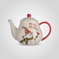 Керамический чайник Снеговик C1215211 [CLONE]