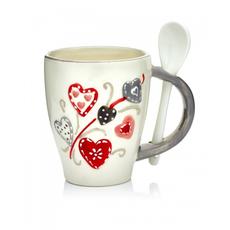 """Чашка """"Сердца"""" (набор 6 шт) [CLONE]"""