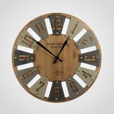 Часы Настенные Ажурные Белые (Полимер) [CLONE]