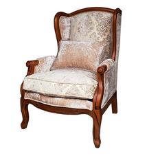 Кресло White Rose, DF830 Blue Linen (M01) [CLONE]