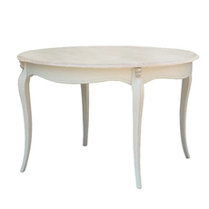 Круглый обеденный стол бежевого цвета на ножке ST9352W / GC13 [CLONE]