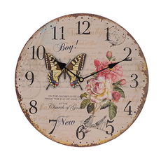Часы настенные круглые (34см) 50697
