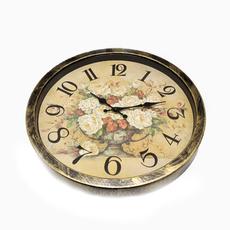 Часы настенные с розами (40см) AP001