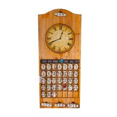 Часы - календарь A20762