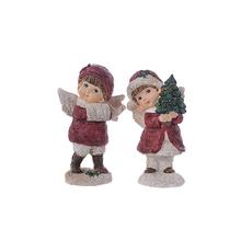 Ангелы новогодние 9х6х15см A302024