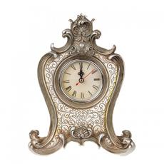 """Часы каминные """"Серебрянная ваниль"""" 18,5x9,5x25 ALC26S-0003"""