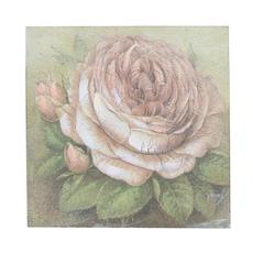 Панно роза 25х25 FR0427