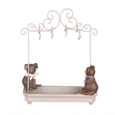 Подставка для украшений с собачками 22,5х9х25,5 QJ99-0048