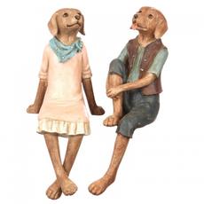 Статуэтка (набор) собачки 11х16х25/8х13,5х25 US99-0012
