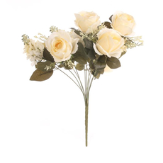 Цветочная композиция / Чайная роза 50 см 596-2
