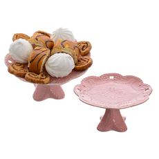Фруктовница малая розовая FD044-1(роз)