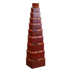Набор коробок с розой из 10 шт. HY-0012