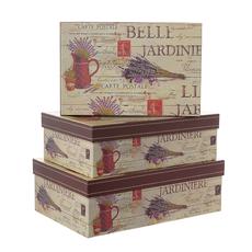 Набор коробок Belle Jardinie из 3 шт. W8864
