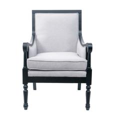 Кресло серое Colin GS-9016