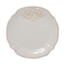 Тарелки керамические белые 26 см. 6 шт. T18608-1