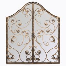 Настенное зеркало «Монтанер» (королевская бронза) 5683