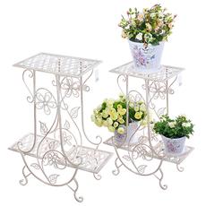 Цветочная подставка Белый ажур PL08-5095