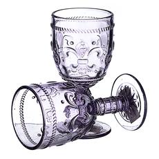 Бокал для вина Дикая фиолетовая лилия