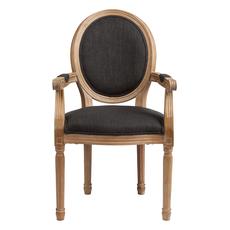 Кресло Pollina Темно-серый Хлопок DG-F-ACH471