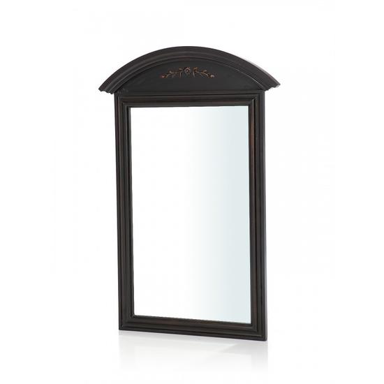 Прямоугольное зеркало настенное с полукруглым верхом ST9134N