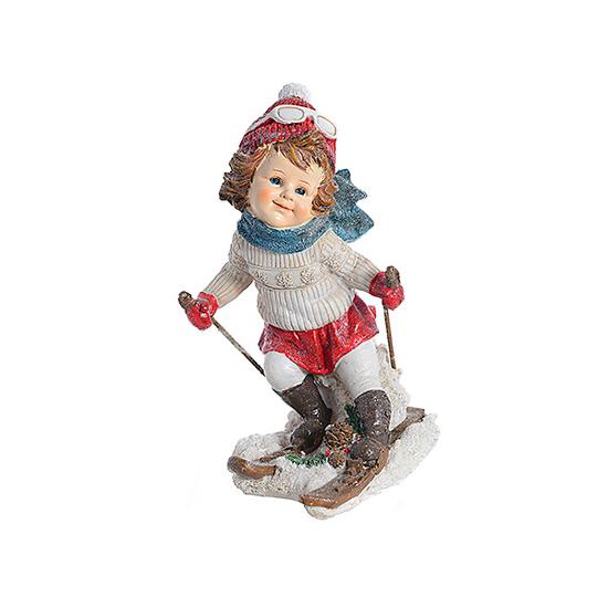 Девочка на лыжах A363343-3
