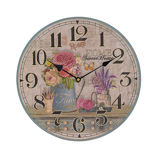 Часы настенные круглые (34см) 50691