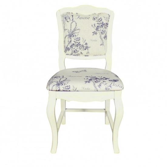 Стул с мягким сиденьем дизайн с цветами ST9307 В