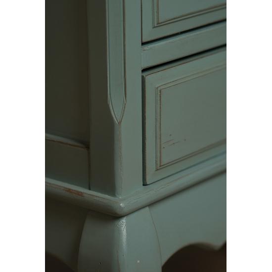 Высокий комод с 6-ю ящиками голубой ST9314 АВ