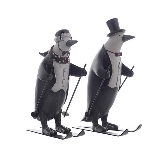 Пингвины лыжники 1314615