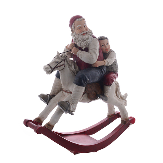 Дед мороз на лошадке 1314721